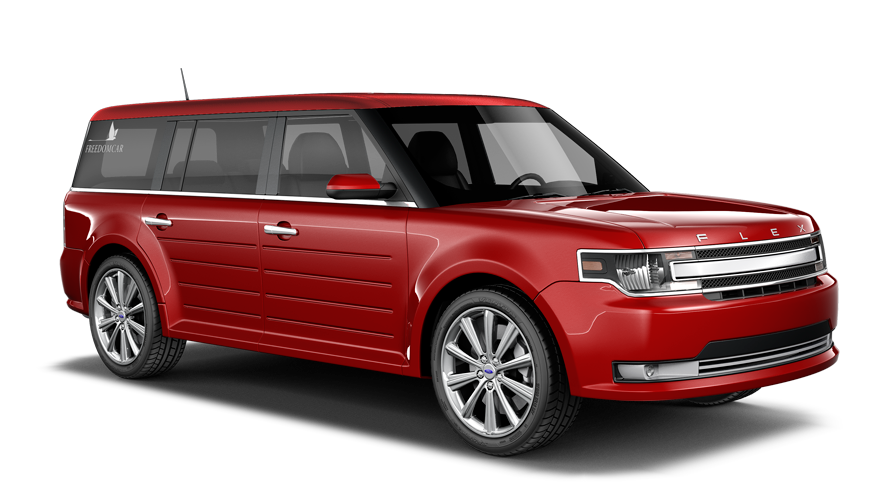 FreedomCar Ford Flex front view